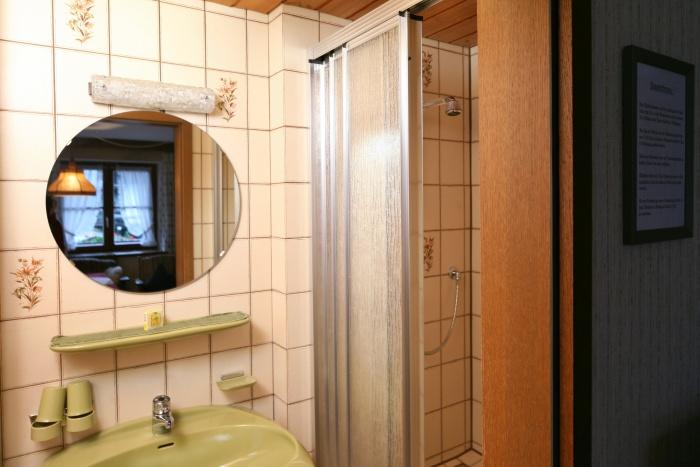 Ferienwohnung Wiesenblick | Badezimmer
