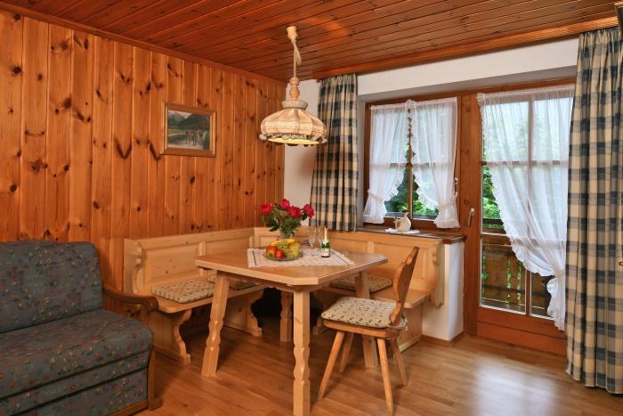 Ferienwohnung Alpenrose | Wohnbereich